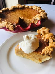Sweet Potato Pie from Chef Josh Moore at Volare, 2300 Frankfort Ave.