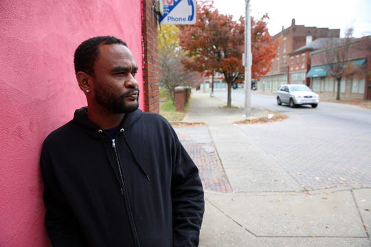 Jai Wilson 42, of Louisville, cannot vote because of felony convictions.