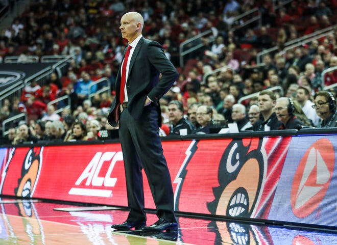 """""""We got a long way to go,"""" said Louisville's Chris Mack after the Cards win over Nicholls State Nov. 8, 2018. """"I thought early on we had nerves."""""""