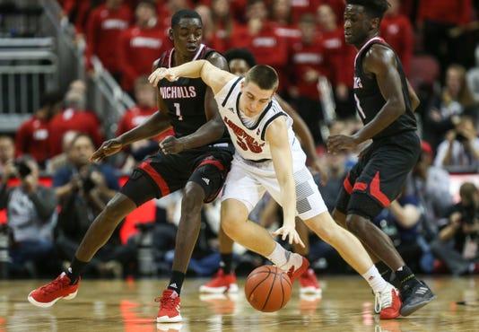 Louisville's Ryan McMahon