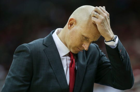 Louisville coach Chris Mack had a lot on his mind during the game and after the game Thursday night.