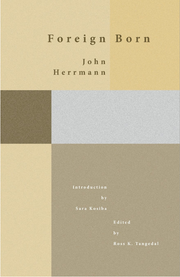 "The cover of ""Foreign Born"" by John Herman"