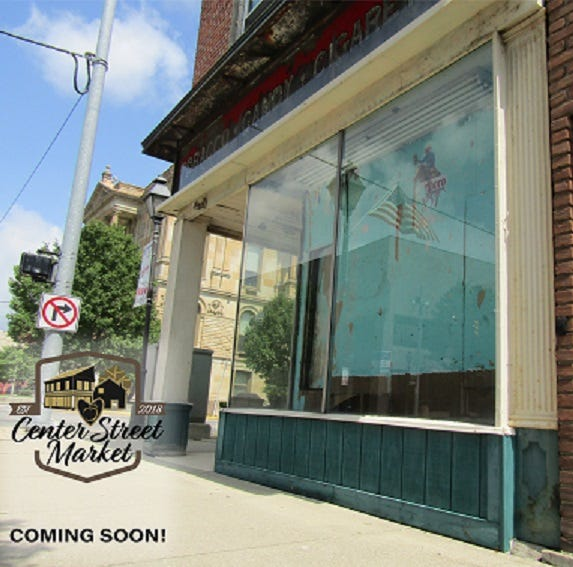 $100k grant to help convert former downtown Marion cigar shop to healthy food market