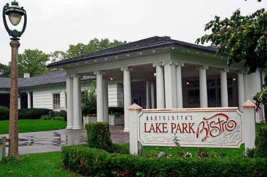 Lake Park Bistro, 3133 E. Newberry Blvd., is in the historic Lake Park Pavilion.