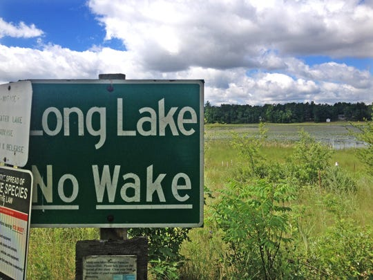 Long Lake in Waushara County lost much of its water in 2016, largely due to large-scale irrigation in the region.