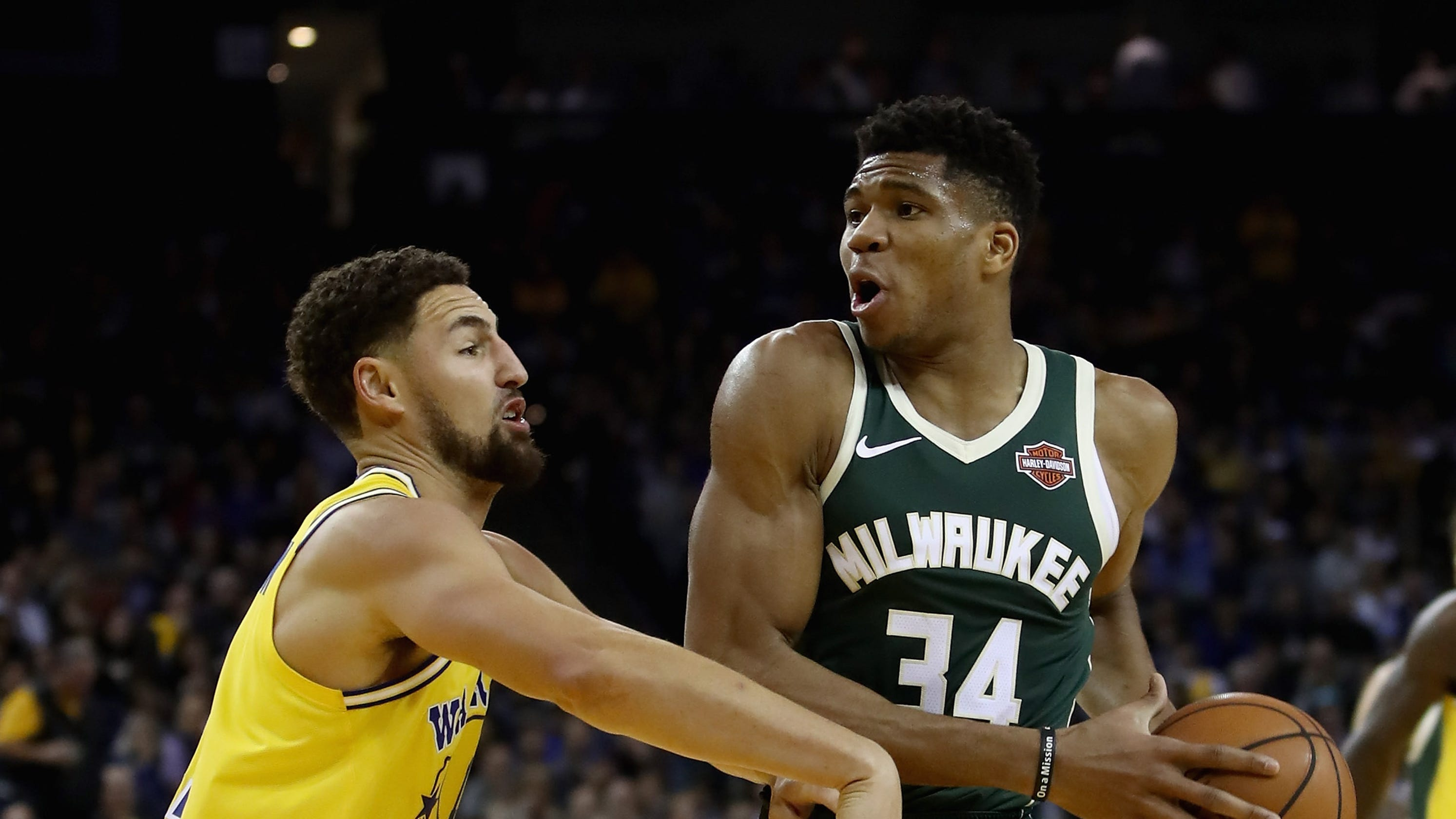 9db995de407 The Bucks collected some national attention after Thursday night s blowout  win over the Golden State Warriors