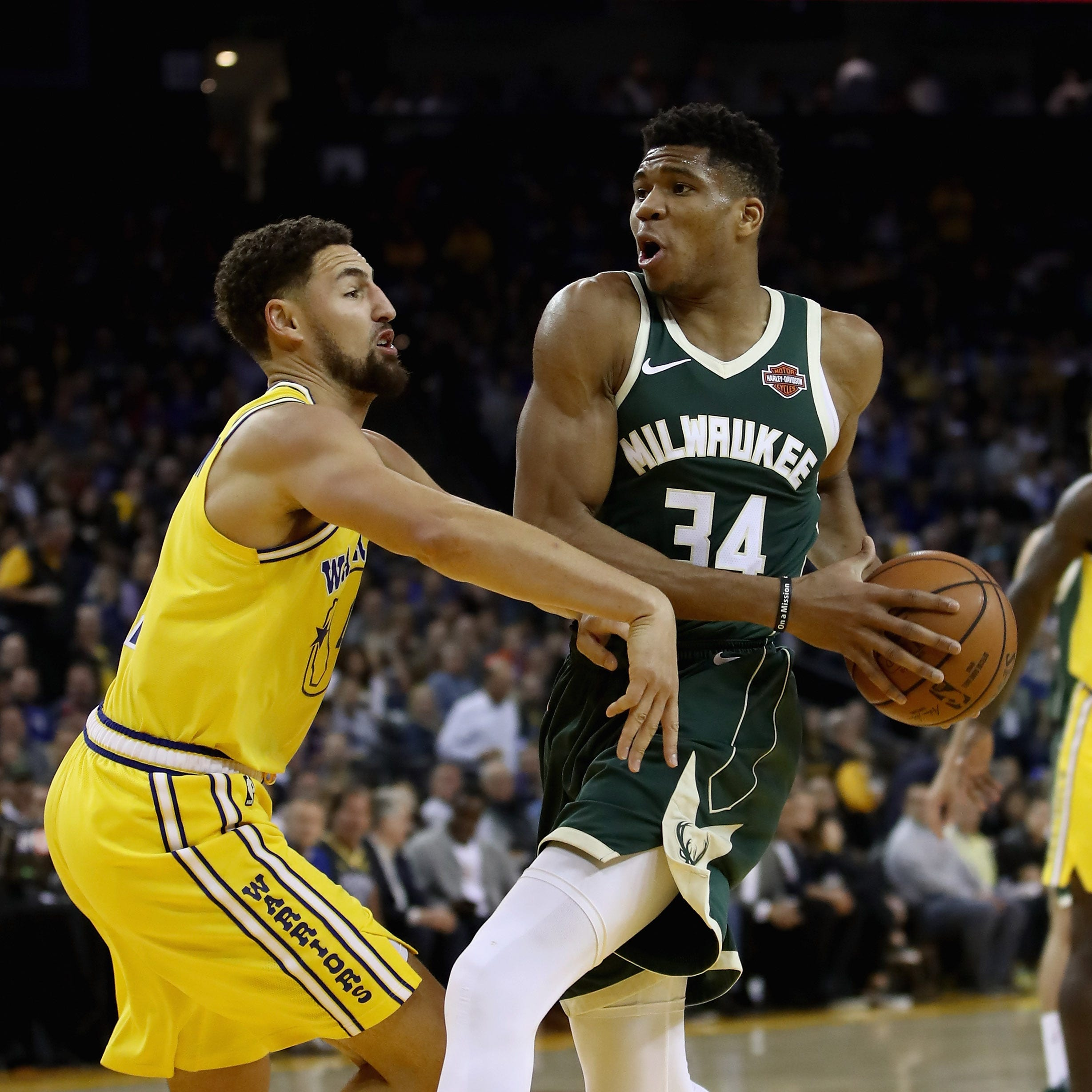 The Bucks collected some national attention after Thursday night's blowout win over the Golden State Warriors