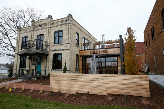 Fiddleheads Coffee Roasters is nearing completion of its new coffeehouse set to open Nov. 25 in the historic Koehler-Zahn House at N88 W16621 Appleton Ave. in Menomonee Falls.