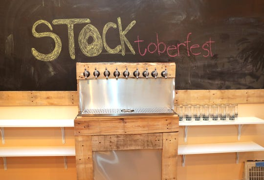 Customers can pay beers forward at Stock House Brewing, 7208 W. North Ave., in Wauwatosa. The beer is ready. Stock House just needs the OK to open in the coming week.