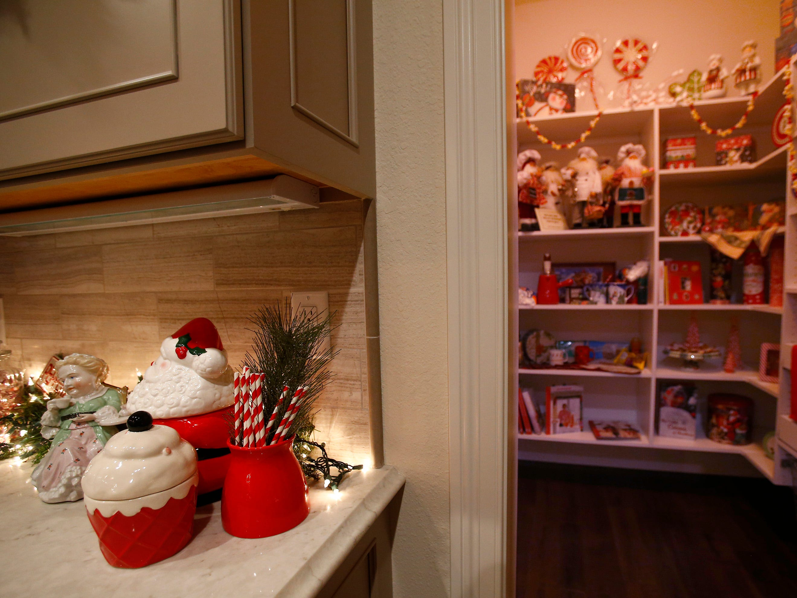 A corner of the kitchen and pantry is set for the 26th annual Christmas Fantasy House with 18 rooms decorated by more than 16 area decorators to benefit the Ronald McDonald House Charities Eastern Wisconsin. The Fantasy house will be open 10 a.m. to 8 p.m. on Nov. 9, and 10 a.m. to 6 p.m. on Nov. 10 and 11. Parking and shuttle to the House is at Ridgewood Baptist Church, 2720 Lilly Road, Brookfield. Tickets are $20 at the door.