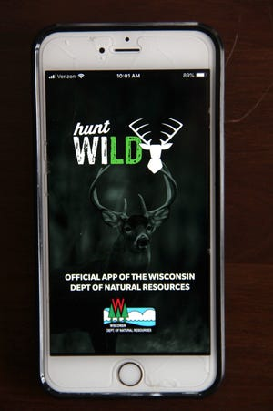 Hunt Wild is a new smartphone app offered by the Wisconsin Department of Natural Resources.