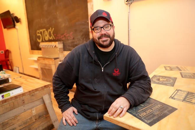 Mark Mahoney is co-owner of Stock House Brewing at 7208 W. North Ave., in Wauwatosa. Stock House expects to open next week.