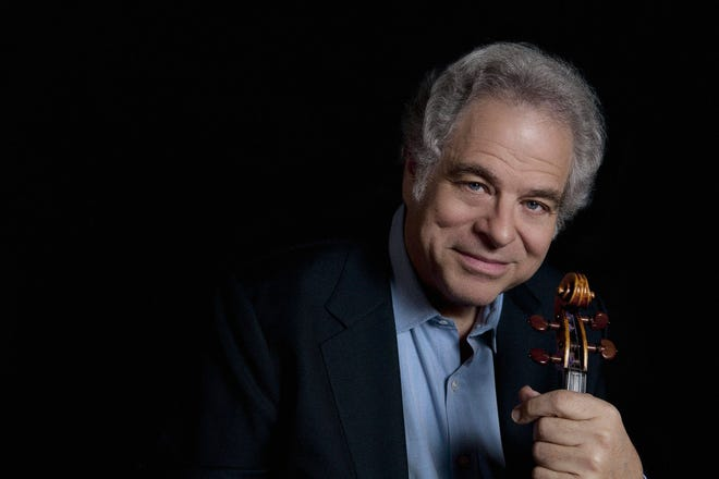 Violinist Itzhak Perlman will return to El Paso in 2020 for a performance at the Plaza Theatre.