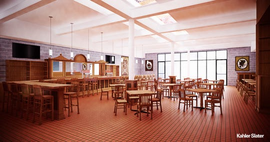 Indeed Brewing plans to open the doors at 530 S. 2nd St., on Friday. This is a conceptual rendering of how it should look.