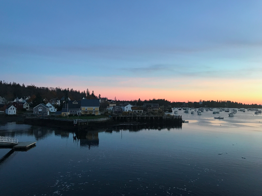 Vinalhaven island, off the coast of Maine.
