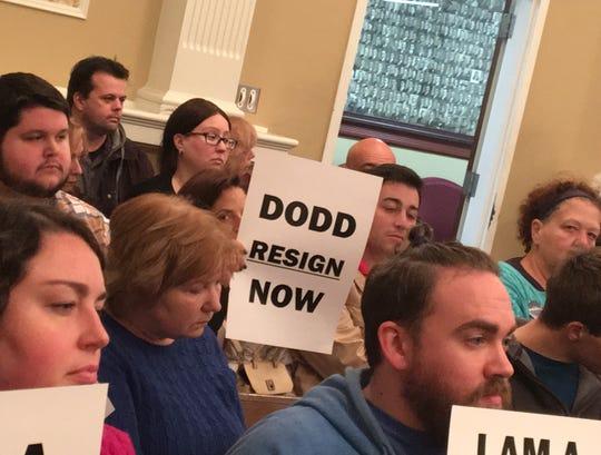 Dover town meeting Nov. 8, 2018