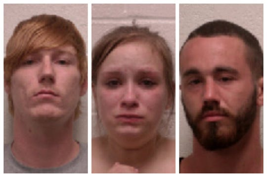 Daniel Blake Scott, Jennifer Henning and Darick A. Hinerman were arrested on first-degree murder charges in the death of Brodie Wilkinson.
