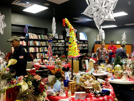 The 36th annual Holiday Flea Market is Nov. 22-23 at First United PentecostalChurchat 7512CharlottePike.