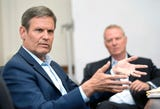 Tennessee's governor-elect Bill Lee discussed his goals for the state, including the idea of altering the corrections system.