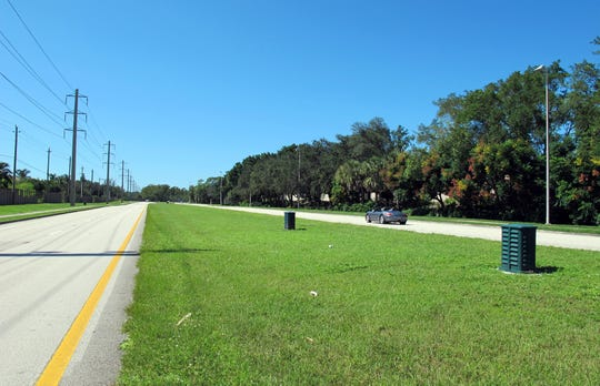 Median landscaping cannot occur on Vanderbilt Beach Road from U.S. 41 to just east of Goodlette-Frank Road until that stretch is widened from four to six lanes.