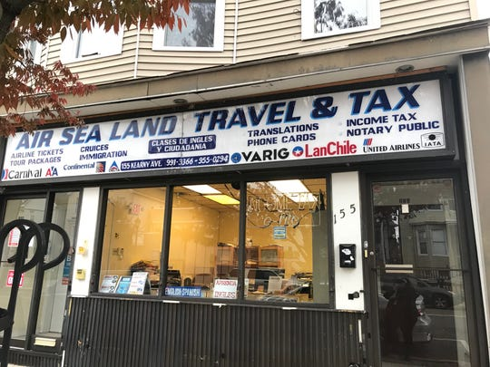 "Air Sea Land Travel, also known as Airsealand Tours, in Kearny, was among 28 New Jersey businesses that have been cited for allegedly providing unauthorized services to immigrants. On Friday, two workers there said they have filled out immigration forms in the past for clients who paid $50 to $100, depending on the complexity of the document. ""Now we are not doing any cases of immigration, one of the workers, Liliana Torres, said in Spanish."