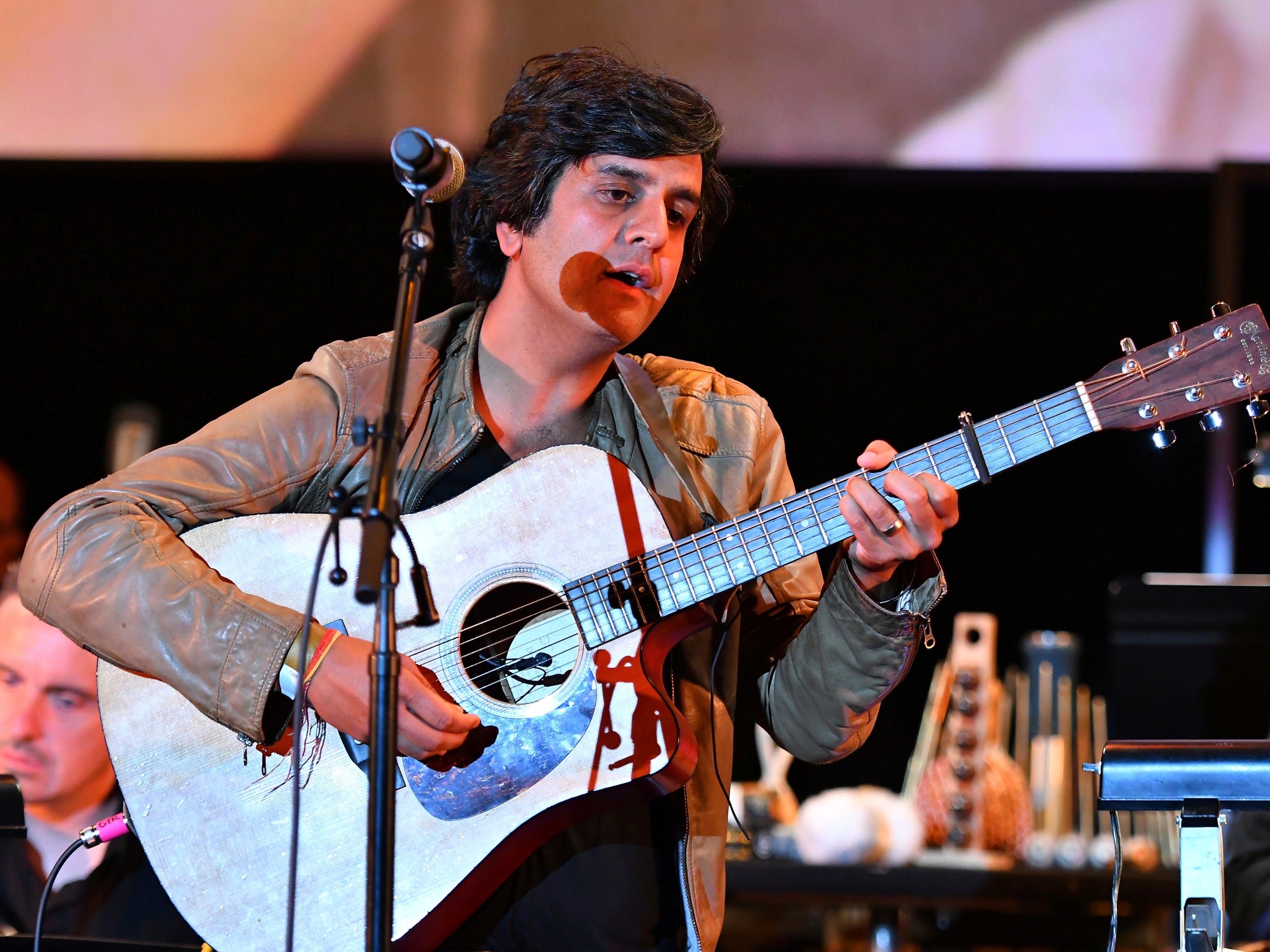 Composer Siddhartha Khosla performs the score from This Is Us during WORDS + MUSIC, presented Thursday, June 29, 2017 at the Television Academy's Wolf Theatre at the Saban Media Center in North Hollywood, Calif. (Photo by Vince Bucci/Invision for the Television Academy/AP Images)