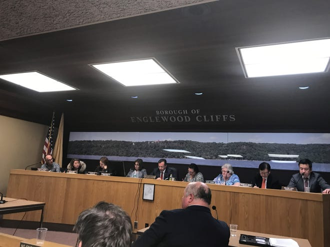Englewood Cliffs mayor and council on November 8, 2018