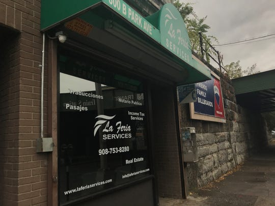La Feria Services of Plainfield was one of 28 New Jersey businesses that have been cited for allegedly offering unauthorized services to immigrants.