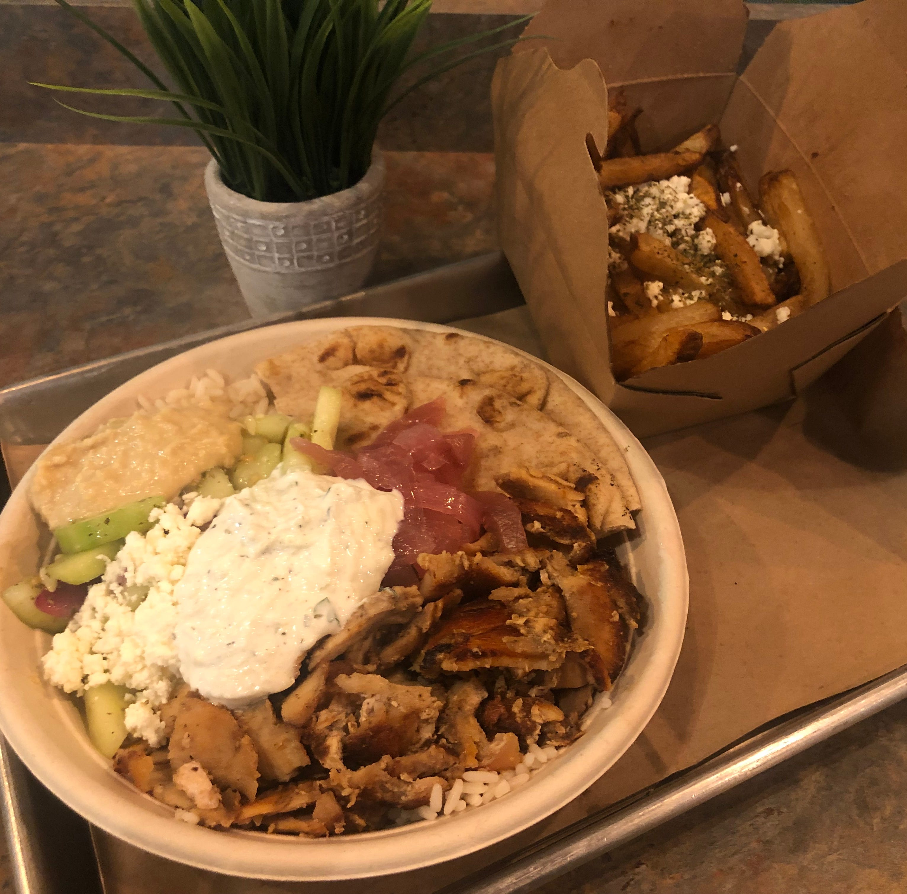 Open Now: Livingston's The Simple Greek brings build-your-own trend to Greek food