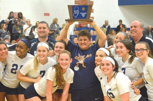 Rutherford girls volleyball
