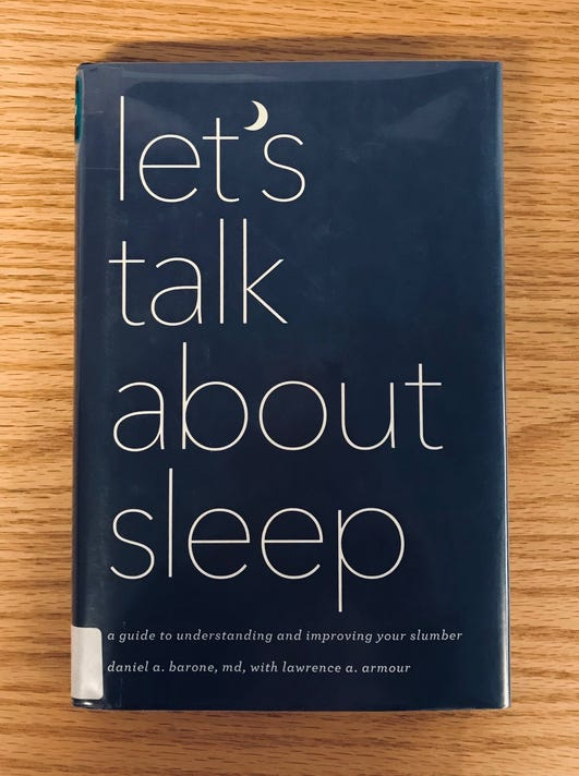 Lets Talk About Sleep