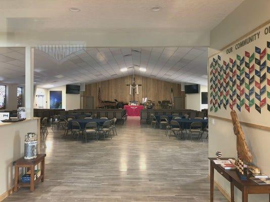 Chapel sanctuary