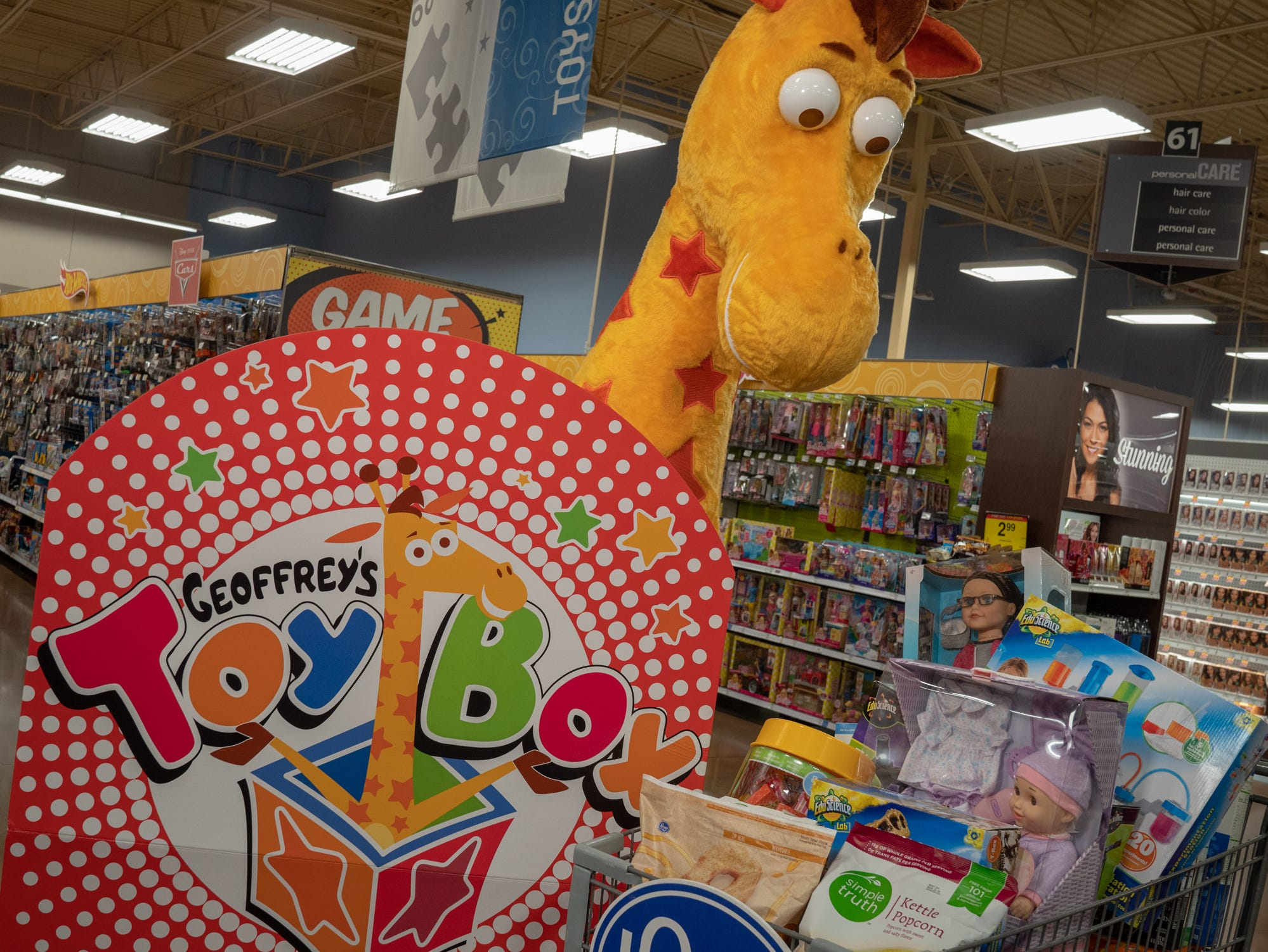 Kroger selling Toys 'R' Us merchandise for holidays at select stores