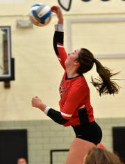 Churchill's junior outside hitter Sarah Dunn was among four Chargers to earn All-KLAA honors.