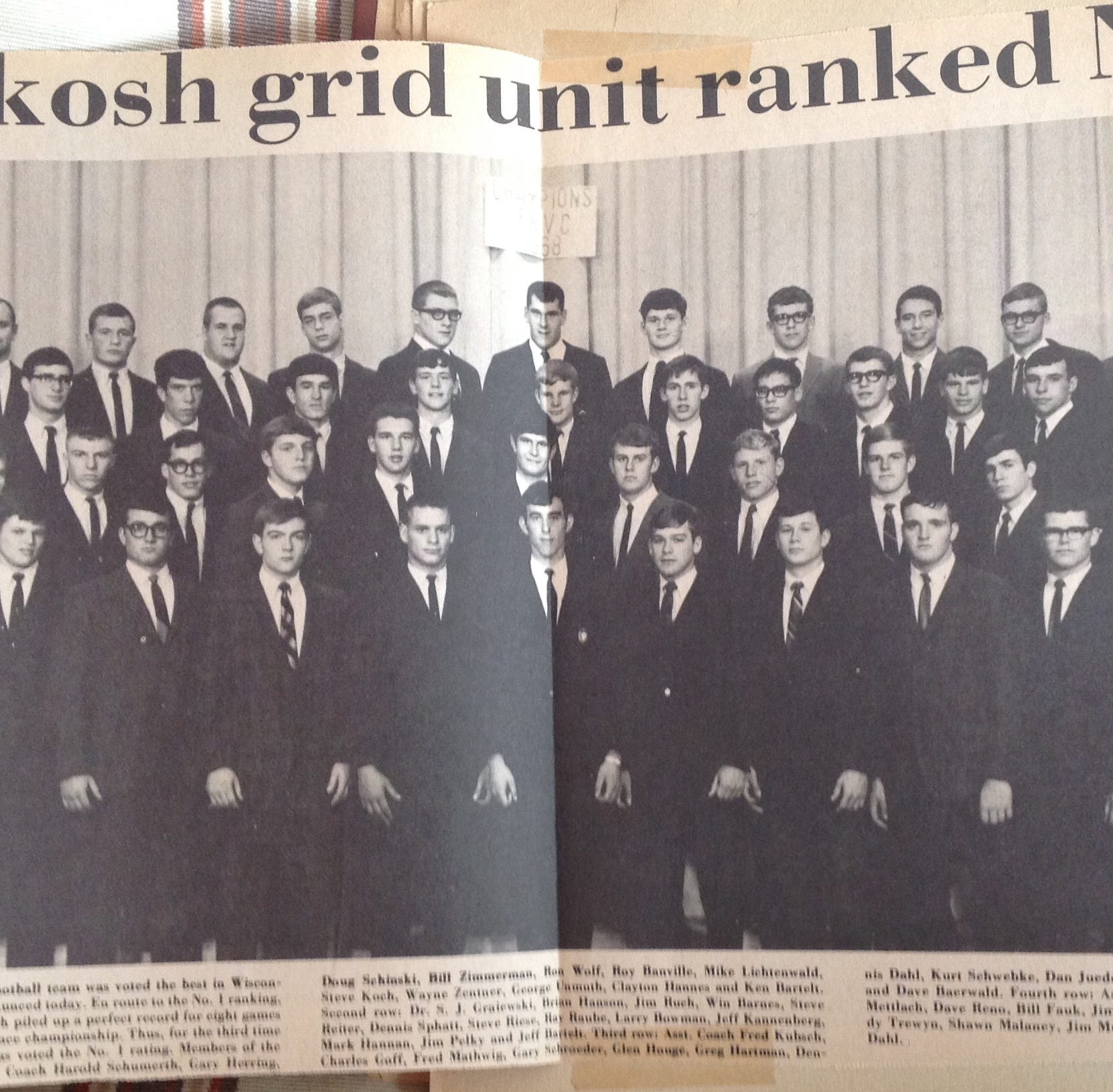 Epic win over Fond du Lac launched Oshkosh to 1968 state football title