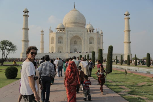 Visit to the Taj Mahal in Agra on Intrepid's Golden Triangle of India tour