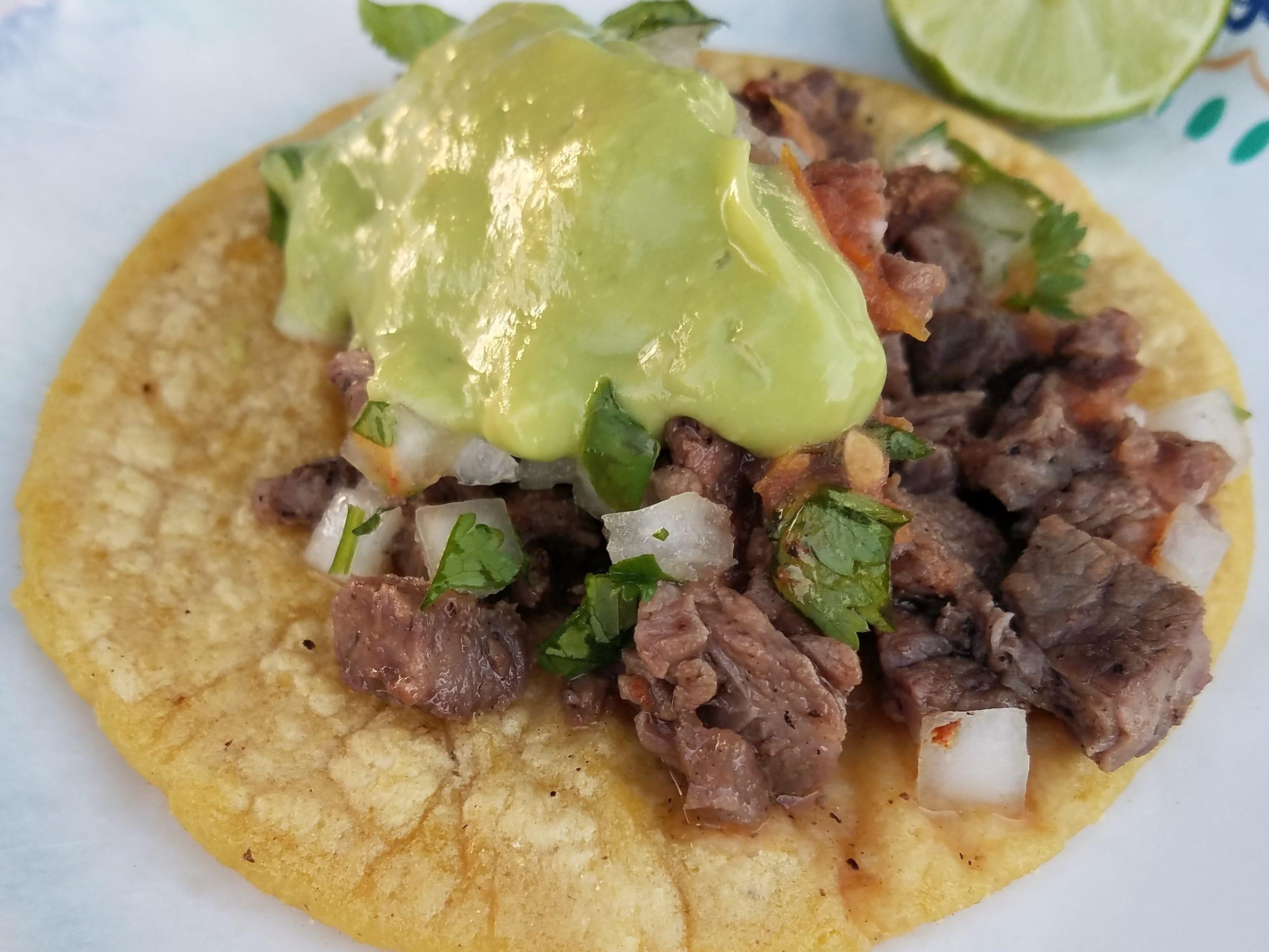 Get hungry looking at Tacos Tijuana's carne asada, tacos, al pastor
