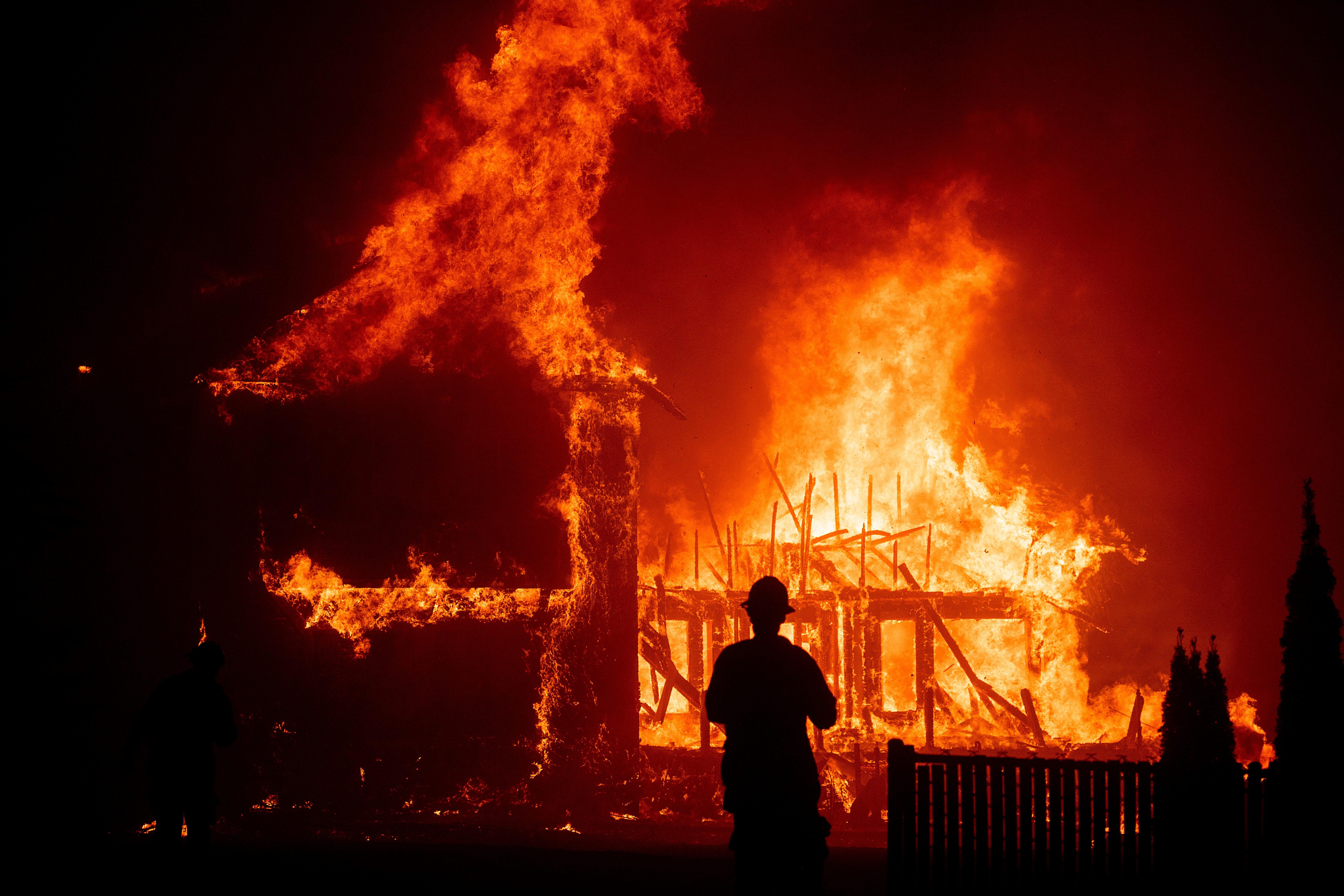 Inside California's worst-ever wildfire