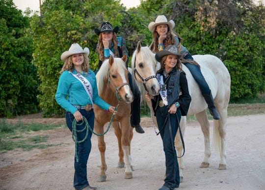 Two pairs of local sisters are representing Gilbert as members of the Gilbert Days Rodeo royalty court.