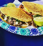 Tacos Tijuana is known for its carne asada and al pastor tacos.