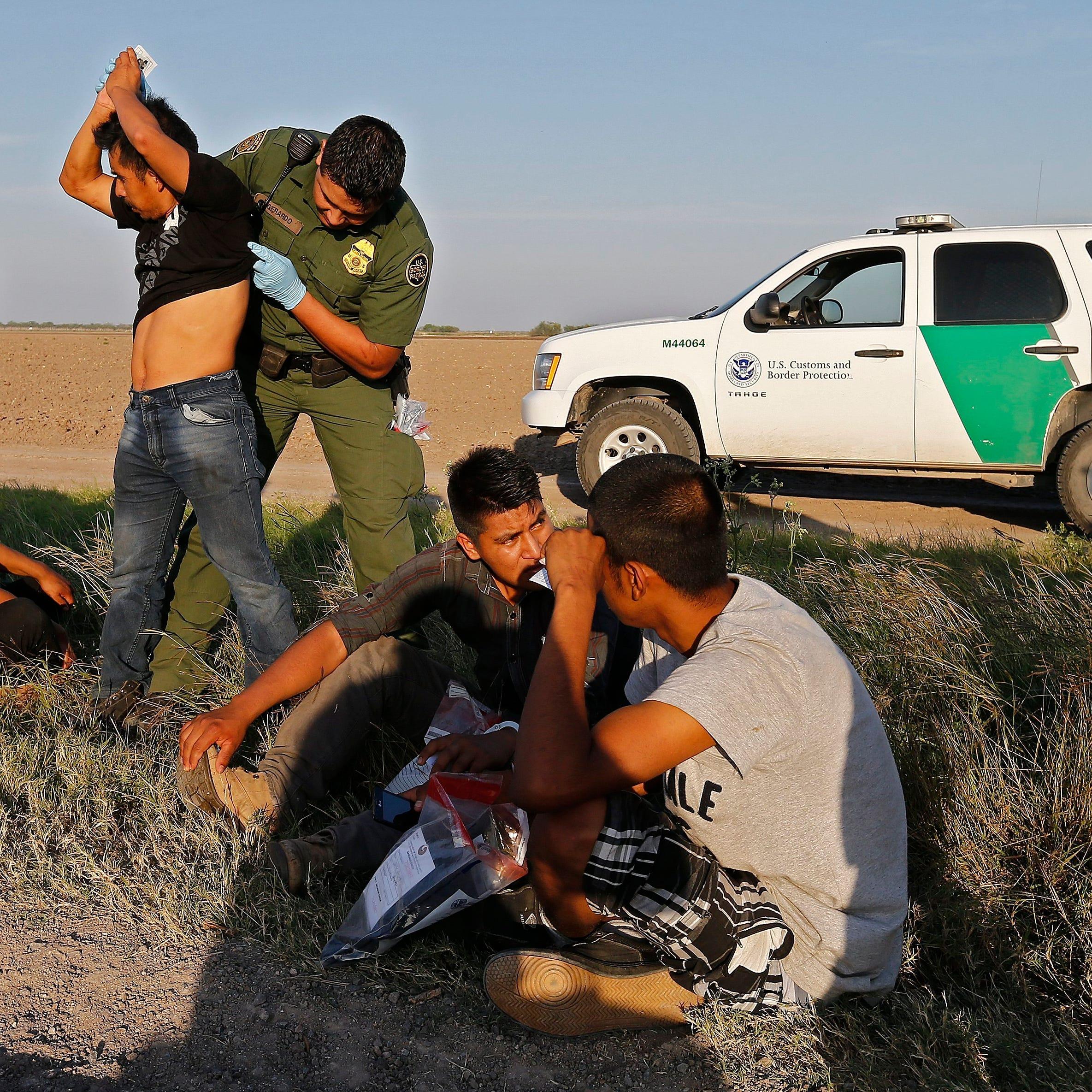 Detienen a más de 400 inmigrantes en la frontera de Arizona en dos días