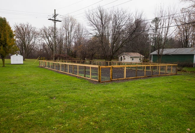 Fort Gratiot Township has laid the groundwork for a community garden to start in the spring next to the township hall.