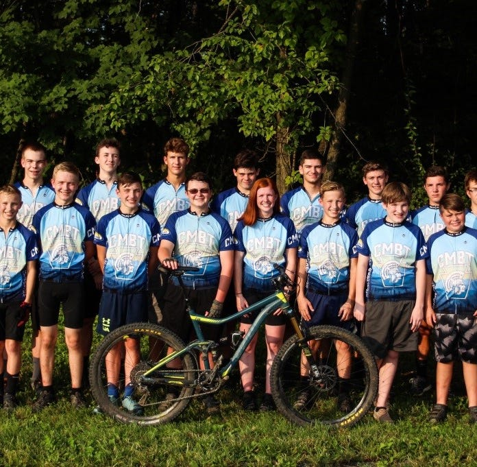 Chambersburg mountain biking team takes home state title