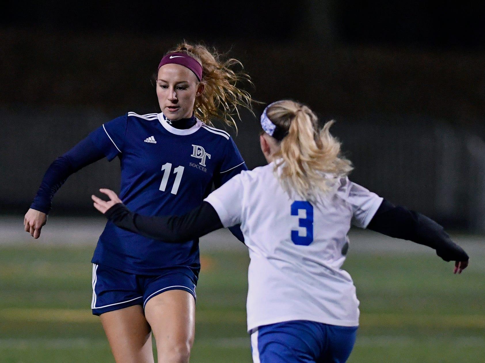York-Adams League Girls' Soccer Senior All-Star Game, Thursday, November 7, 2018. John A. Pavoncello photo