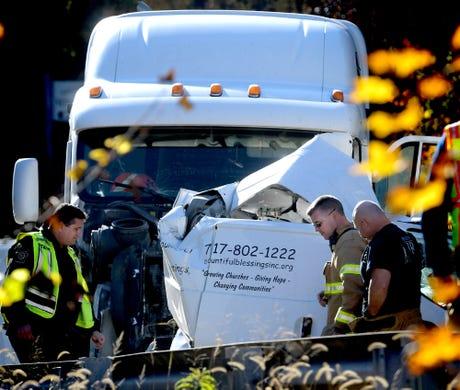 Mechanicsburg man killed in multi-vehicle crash on I-83