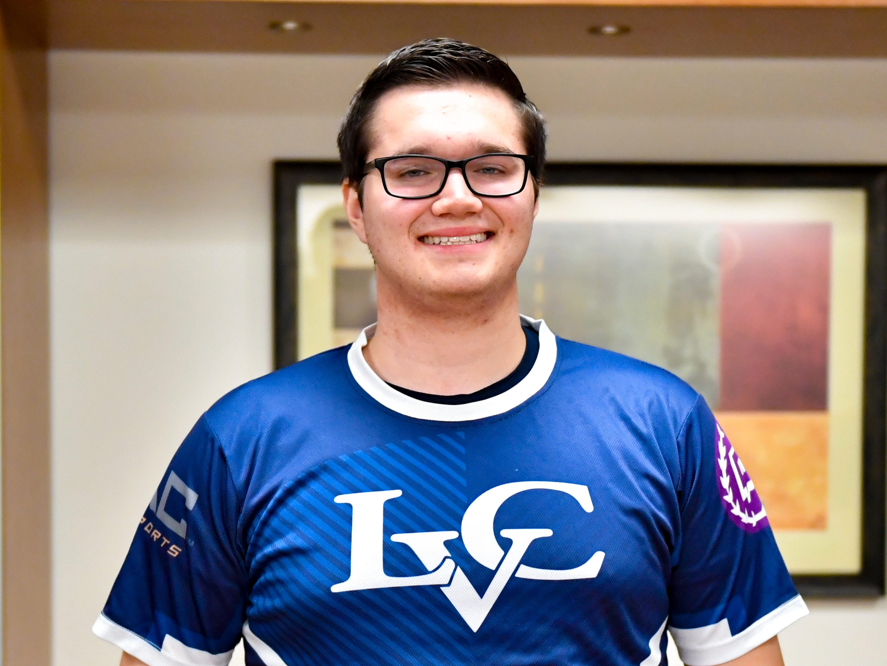 Coulson Miller is a senior at Lebanon Valley College majoring in Business Administration and minoring in Computer Science. The York native has been a varsity Esports athlete since it came to LVC last year. He primarily plays League of Legends and Smite for the team.