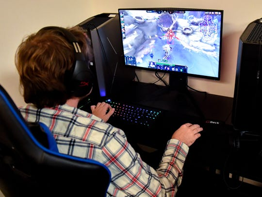 Esports teams play games from many different genres including, Multiplayer Online Battle Arena, Real-Time Strategy, First Person Shooter, Fighting, Sports and others.