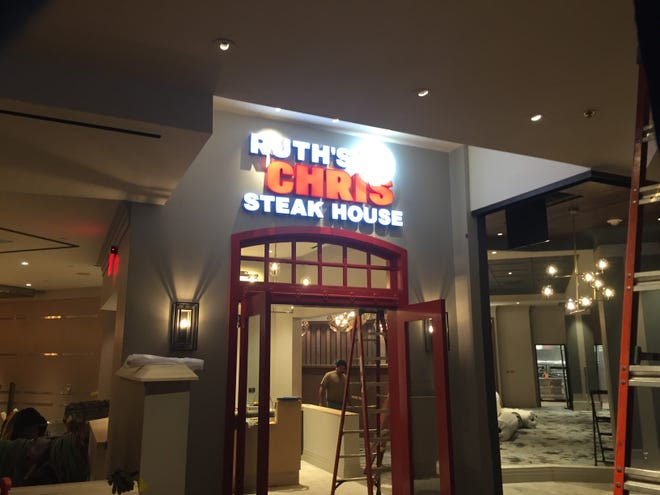Construction is proceeding on Ruth's Chris Steak House in the Silver Legacy Resort Casino in downtown Reno. Ruth's Chris, part of a 150-restaurant global chain, replaces Sterling's Seafood Steakhouse, the property's longtime flagship restaurant.