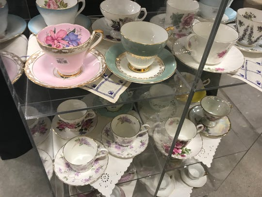 Tea cup sets for sale for $5 at The Sale