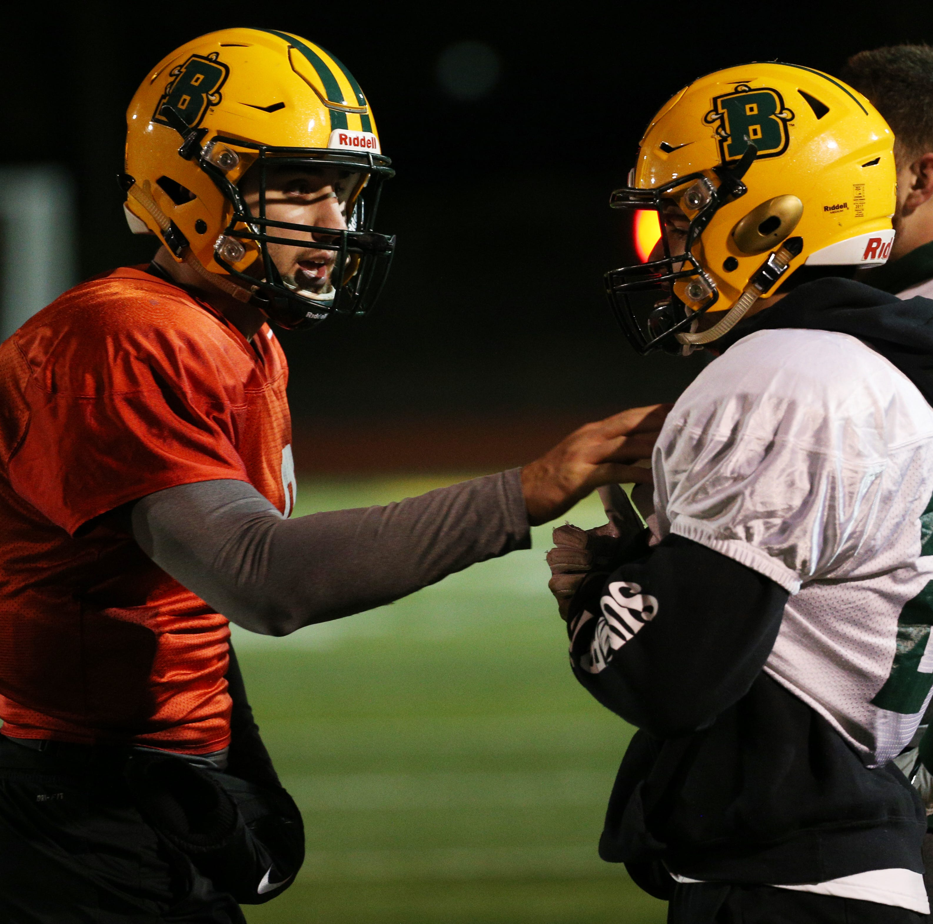 The College at Brockport preps for first round of NCAA Division III Football Championships